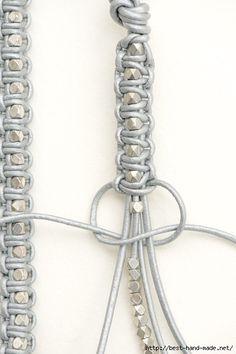 Make Your Own Jewelry Cord Bracelets Diy Accessories Diy Art Hemp Jewelry Diy Jewelry Jewelery Macrame Colar Bracelet Tutorial Diy Bracelets Easy, Macrame Bracelets, Jewelry Bracelets, Bracelet Box, Making Bracelets, Pandora Bracelets, Bracelet Charms, Nose Jewelry, Silver Bracelets