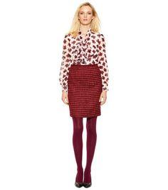 Victory Tweed Skirt | Womens Skirts | ToryBurch.com