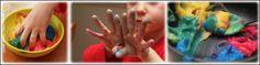 Bri-coco de Lolo: De la peinture à doigts comestible, le bonheur