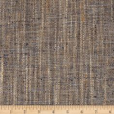 From P Kaufmann, this 100% polyester basketweave features an uneven design for beautiful visual and textural interest. It is heavyweight, which makes it especially versatile. Perfect for window treatments (draperies, cornice boards), upholstery projects, toss pillows and more! Colors include shades of brown and blue.
