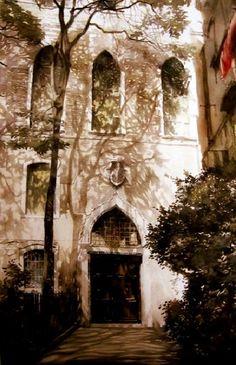 Paul Dmoch Les ombres de Venise, Italie