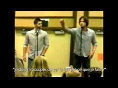Jared and Jensen on the eyelash story (VOSTFR)