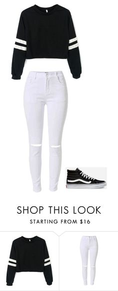 """Untitled"" by staylookinggood ❤ liked on Polyvore featuring Vans"