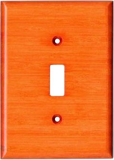 Bamboo Mandarin Orange Light Switch Plates Outlet Covers Wallplates