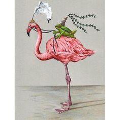 Frog Princess and Flamingo Art Print Whimsical Art Cute Art Print Kids Bedroom Art Frog Art Flamingo Art Girls Bedroom Art Kids Bedroom Ideas art Bedroom Cute flamingo Frog Girls Kids princess Print Whimsical Flamingo Art, Pink Flamingos, Flamingo Painting, Illustrations, Illustration Art, Flamingo Illustration, Art Fantaisiste, Art Mignon, Frog Princess