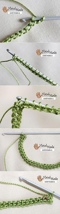"""Um guia valioso passo para iniciantes no tricô tunisiano - parte 2: Diary of a """"Knitting pela descrição"""": Grupos - rede social feminina myJulia.ru"""