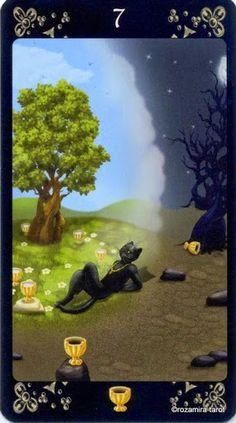 7 of Cups - Black Cats Tarot - Rozamira Tarot - Picasa Web Albums