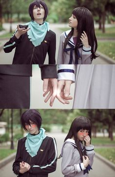 BEST YATO/HIYORI COSPLAY I'VE SEEN SO FAR | Noragami: Yato, Yukine, Hiyori by Tovarish-N on DeviantArt