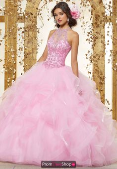dd0a8ba331e Vizcaya Quinceanera Beaded Long Gown 89230