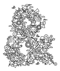 Line Art by Jonathan Calugi