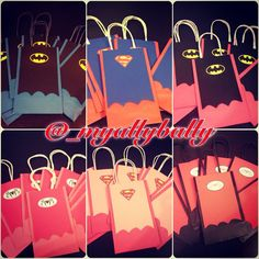 Super Hero Goody Bags by MyAllyBally on Etsy, $1.50