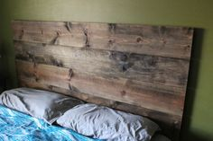 Rustic Yet Modern Headboard Loft Style And Urban Chic