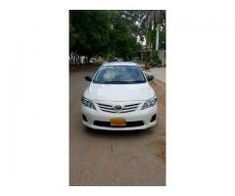 Corolla xli ecotec 2011 for sale in good amount