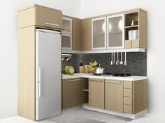 Modern Small Kitchen Design Inspiration for Your Beautiful Home - kitchen set minimalis