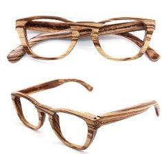 hipster eyeglasses handmade zebra wood eyeglasses