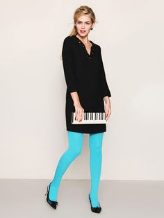 Love this cute little piano looking clutch! It isn't too practical but its adorable :-)