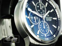 Maurice Lacroix Pontos S Automatic Watch, Sst, ETA Cronograph, Black Stainless Steel Bracelet, Stainless Steel Case, Nato Strap, Automatic Watch, Chronograph, Watches, Black, Wrist Watches, Wristwatches