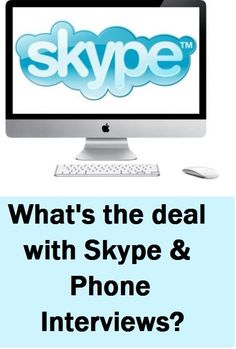 Here are some tips from a student on succeeding in Skype & Phone Interviews.