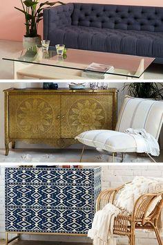 Anthropologie : une alternative IKEA pour acheter du mobilier et de la déco boho tendance