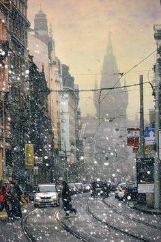 Сказка зимней Праги