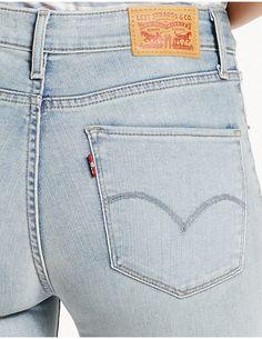 721 High Rise Skinny Jeans Hosen, Levis 501, Levis Jeans, Röhrenjeans,  Strumpfhosen 19f9647221