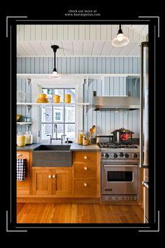 Kitchen Sink Pendant Lighting Ideas Kitchen Sink Lighting, Kitchen Lighting Design, Pendant Lighting, Kitchen Cabinets, Lighting Ideas, Furniture, Home Decor, Decoration Home, Room Decor