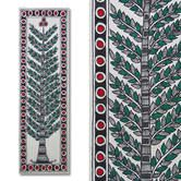 Buy Madhubani Painting Featuring A Tree online. ✯ 100% authentic products, ✯ Hand curated, ✯ Timely delivery, ✯ Craftsvilla assured.