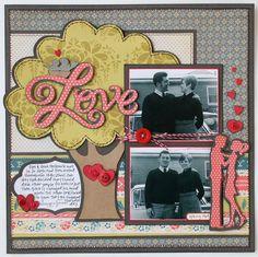 Cricut Layout: Sweethearts Cartridge