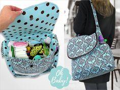 Big & Beautiful Diaper Bag | Sew4Home