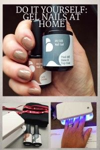 Do it yourself, gel nails at home: Belle Gel Rapide, gel nail kit