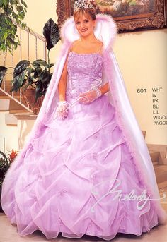 Wedding Dresses 601 Fit for a Princess!