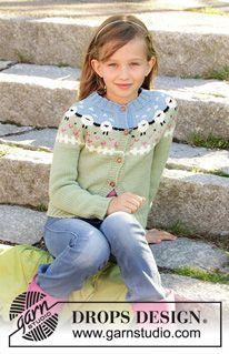 9d28437e Wie man einen Pullover von oben nach unten (top down) strickt - DROPS  Lektionen / Strickkurs