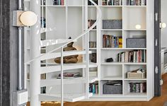 White Penthouse In Istanbul by Ofist