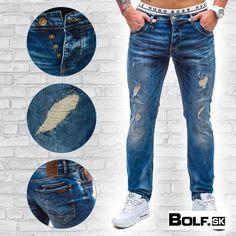 v našej ponuke nájdeš množstvo štýlových džínsov :) http://www.bolf.sk/on/panske-nohavice/rifle