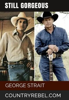 Country Music - George Straight - Still Gorgeous. LOVE King George!! http://countryrebel.com/blogs/videos/tagged/george-strait