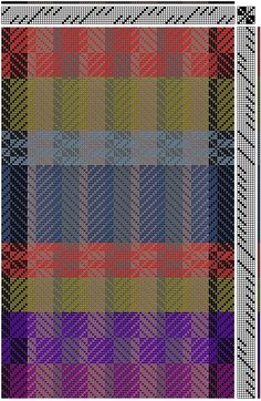 Weaving Mania: 8 harnesses Weaving Designs, Weaving Projects, Weaving Patterns, Textile Patterns, Scarf Patterns, Swedish Weaving, Woven Scarves, Textiles, Chart Design