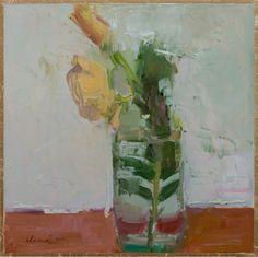 "Saatchi Art Artist: Elena Zolotnitsky; Oil 2013 Painting ""Message In The Bottle/SOLD"""