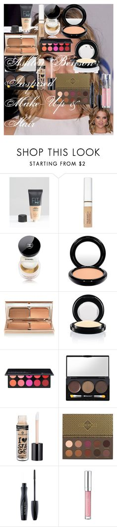 """Ashley Benson Inspired Make-Up & Hair"" by oroartye-1 on Polyvore featuring beauty, Maybelline, L'Oréal Paris, Chanel, CC, Charlotte Tilbury, MAC Cosmetics, BHCosmetics, Essence and ZOEVA"