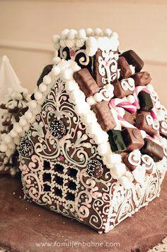 Kristyr till pepparkakshus Gingerbread house More