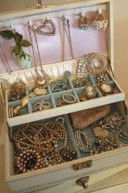 I loved exploring in my Grandma's jewelry box...each time was a brand new adventure...