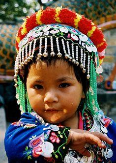 portrait fillette, Laos  by ichauvel