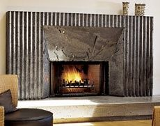 Fireplaces Galvanized Steel And Fireplace Surrounds On