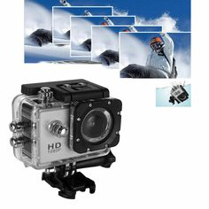 This 2-inch SJ7000 multi-functional sports DV, high-quality element to capture clear picture and shoot full HD videos. Durable waterproof design makes it more suitable for outdoor extreme risk. It supports 32GB TF card as saving equipment, so scenery recording all the way won't be missed. With easy to use and high performance, it is really a wonderful action camcorder for you. Full Hd 1080p, Full Hd Video, Gopro, Sports Camera, Camcorder, Scenery, Action, Videos, Easy