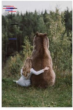 Trademark Innovations Olga Barantseva 'Bear Friend' Canvas Art – 30 Olga Trademark Innovations Barantseva & # Bärenfreund & # Leinwandbilder – 30 x 2 x 47 Animals And Pets, Baby Animals, Cute Animals, Nature Animals, Wild Animals, Beautiful Creatures, Animals Beautiful, Artist Canvas, Canvas Art