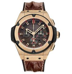168e0f12fa9 Luxury Connoisseur  King Power Arturo Fuente King Gold Chronograph watch  from Hublot. Relógio Store .
