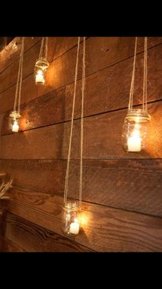 Candle light home decor