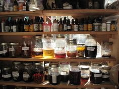Janet's homemade tinctures