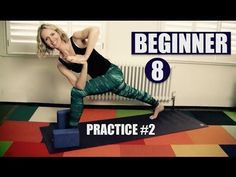 BEGINNER YOGA FLOW // STANDING POSES 1, STRONG & TONED LEGS // Practice #2 of 8 - YouTube