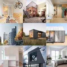 Micro apartments could be the solution for cities facing an affordable housing crisis, so we've squeezed some examples onto our tiny homes Pinterest board