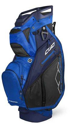 Whether you are walking the course or riding in a cart, #lorisgolfshoppe has a golf bag for you. Shop this Black/Navy/Cobalt & Navy Sun Mountain Men's C-130 Golf Cart Bag today!
